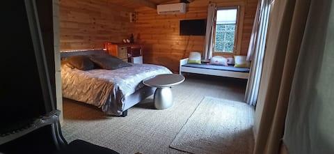 Chalet studio cosy climatisé
