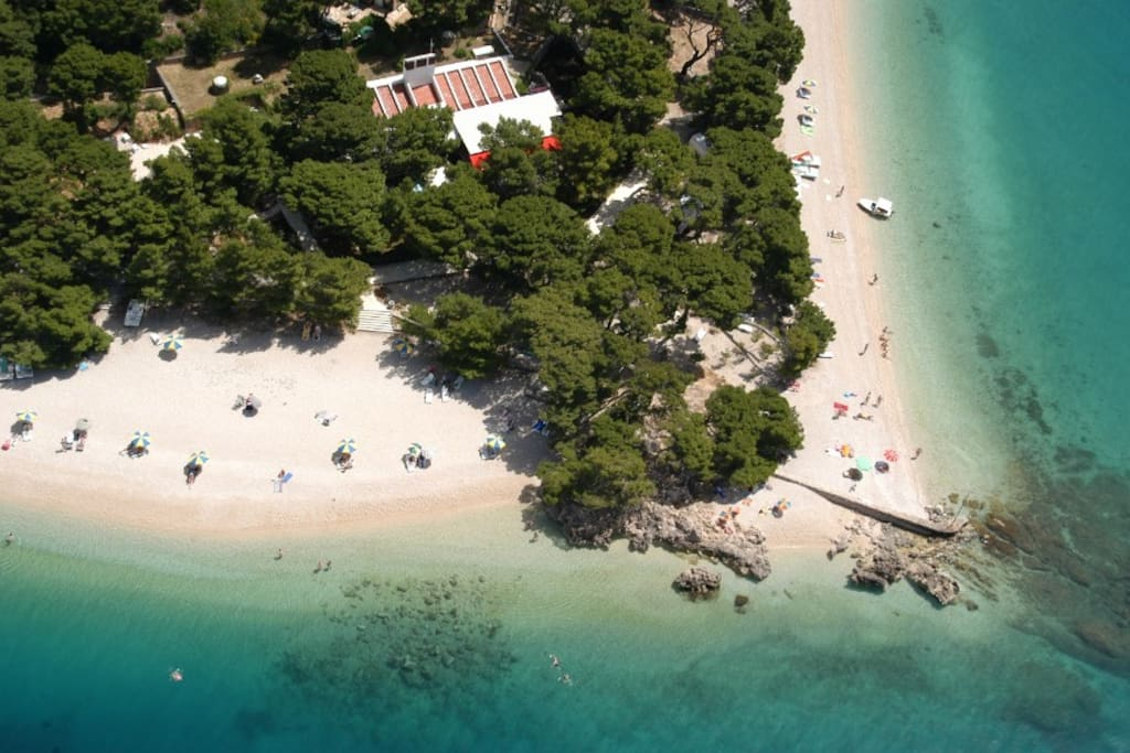 Location of the property, 10 meters away from Punta rata beach