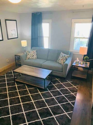 Light, updated, lodging! No fee for extra guests!