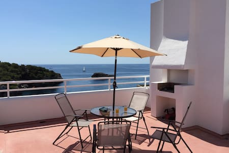 Seafront Penthouse in front of sea - Santanyí
