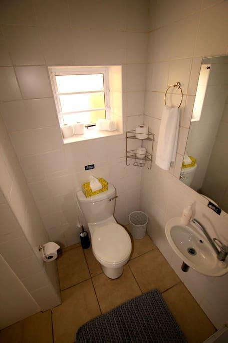Main bathroom/shower/toilet ensuite