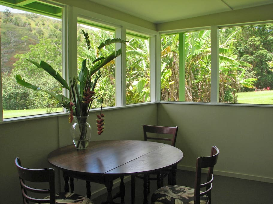 Indoor outdoor life on the lanai