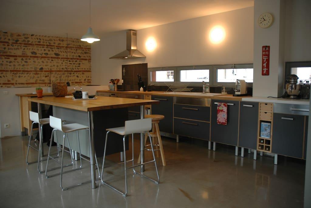 Loft atypique terrasse centre ville lofts louer for Terrasse atypique