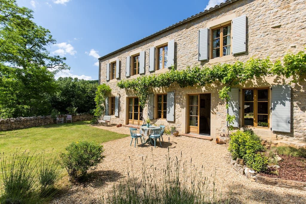 French country home with swimming pool houses for rent for French country homes in france