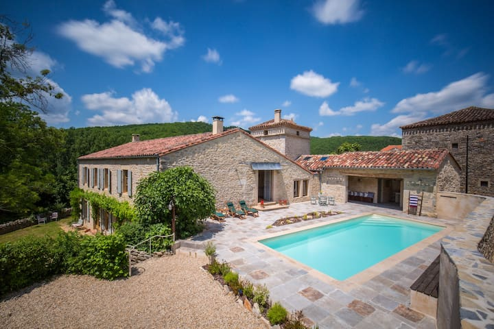 French Country Home with Swimming Pool - tarn - Dům