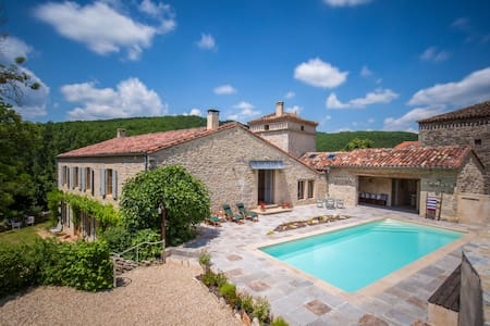 French Country Home with Swimming Pool - tarn