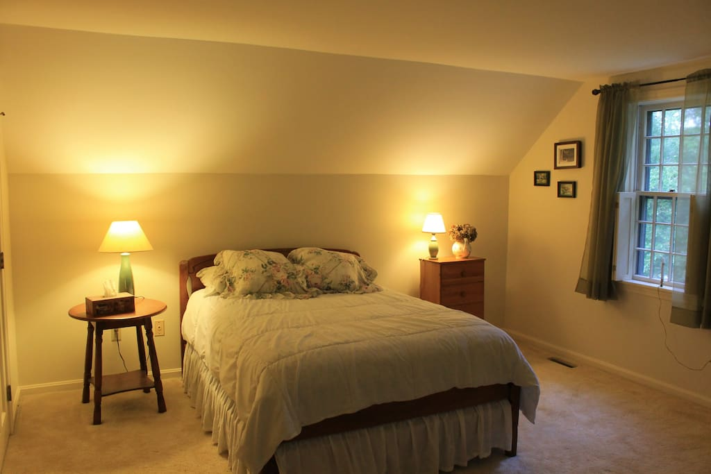 Master bedroom- One double