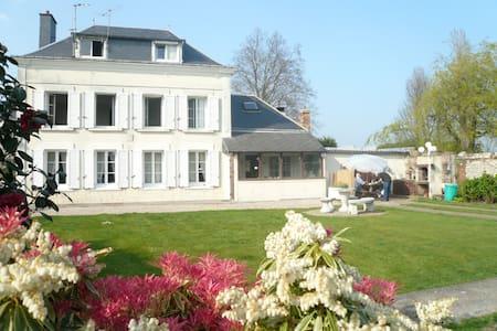 """ Le Jardin d'Alice "" chambre verte - Le Tilleul - Bed & Breakfast"