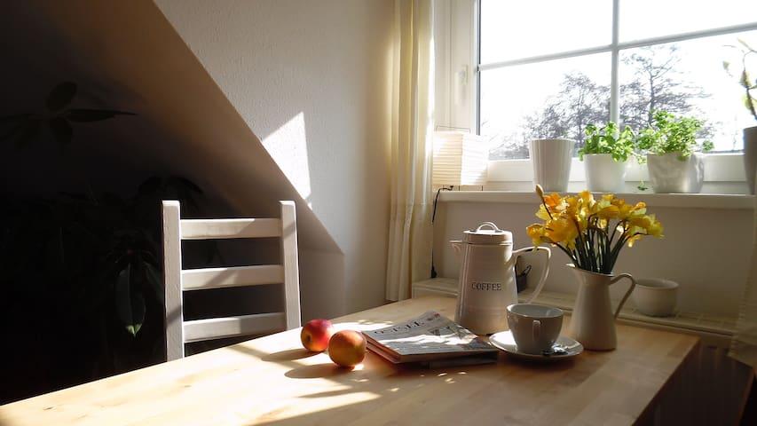 Schöne Maisonettewohnung nahe am Nationalpark - Prerow - Apartamento