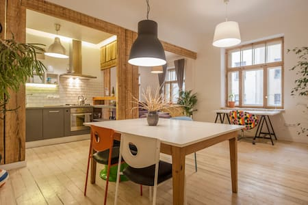 Artistic, spacious apartment in charming area - Rīga