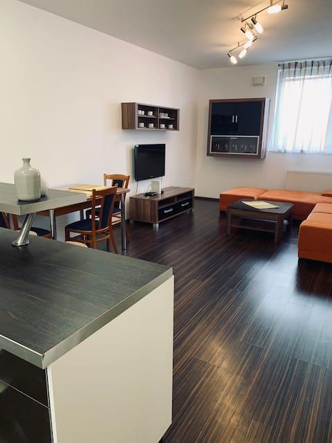 Moderan apartman u mirnom delu, besplatan parking