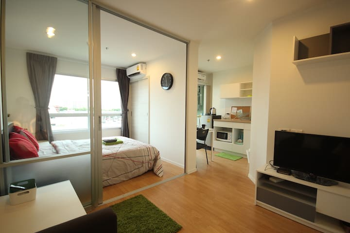 1BR near Airport/Skytrain+Wifi (1) - Bangkok - Apartment