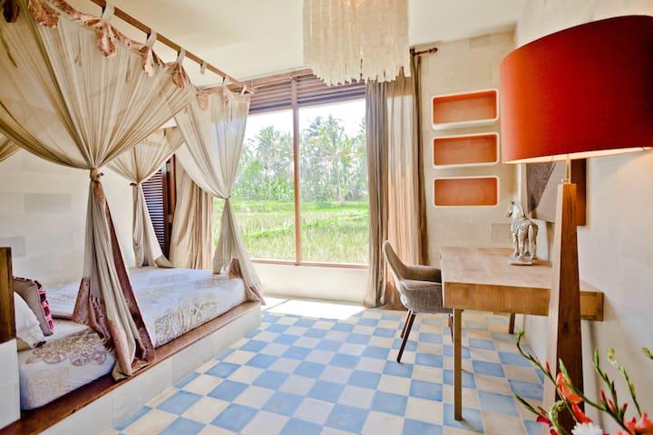 Impressionnante vue de Rice Paddy Apartment!
