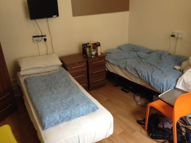 Female Shared twin room w/Wi-Fi (a)