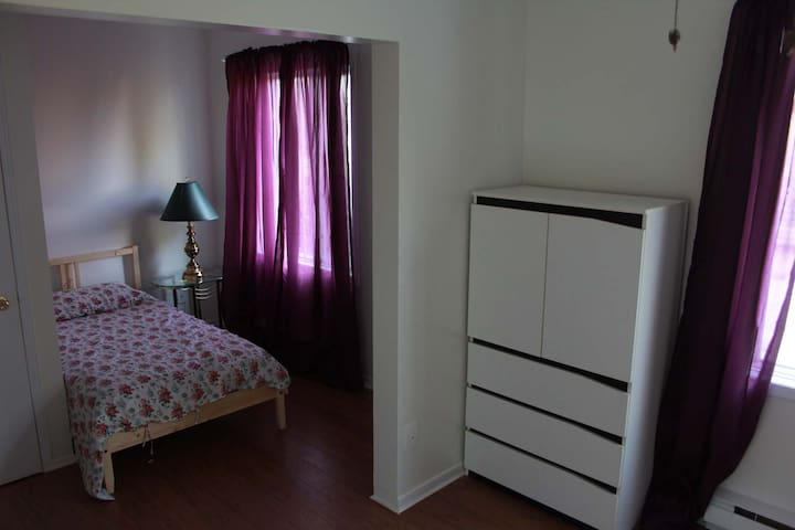 Room with toilet single bed 304 - Longueuil - หอพัก