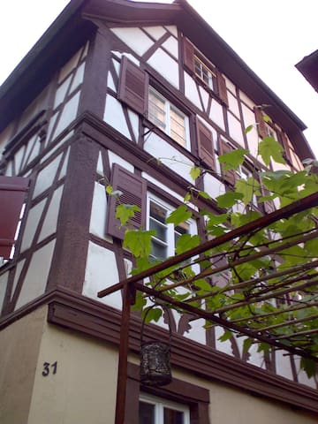 Altstadtwohnung am Oberen Stadttor - Gengenbach - House