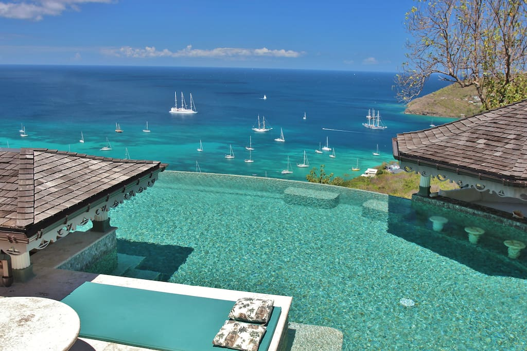 Magical views from a stunning pool. It doesn't get better than this