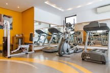A state of the art gym - no strings nor fees attached!