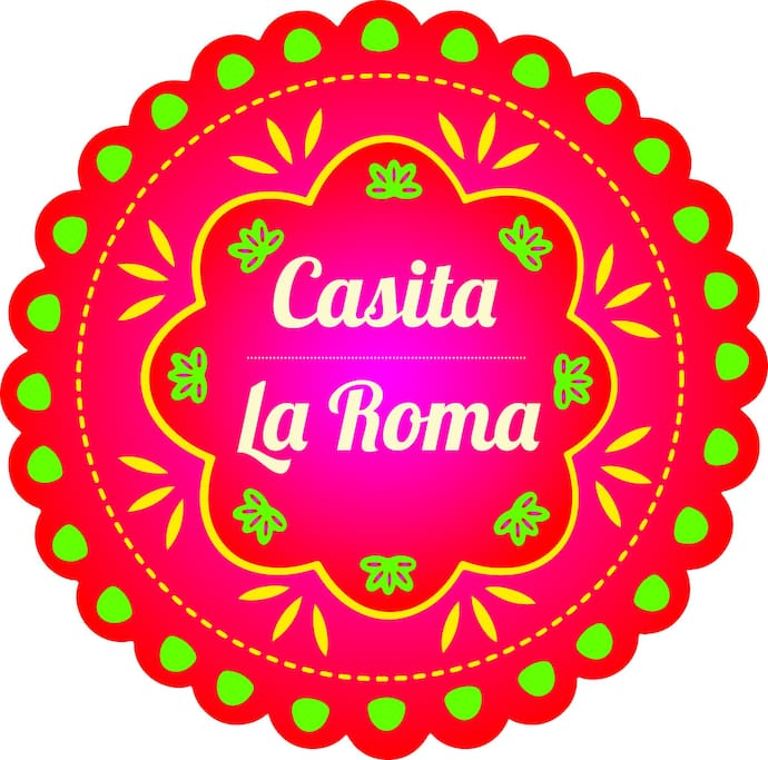 Casita La Roma  Our Logo!!
