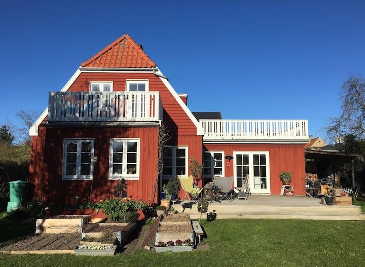 Cosy wooden house in Copenhagen