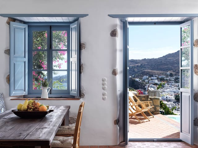 Patmos Eye Villa Sea View