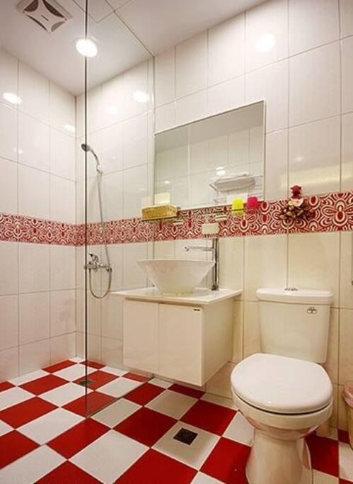 202 雙人房衛浴