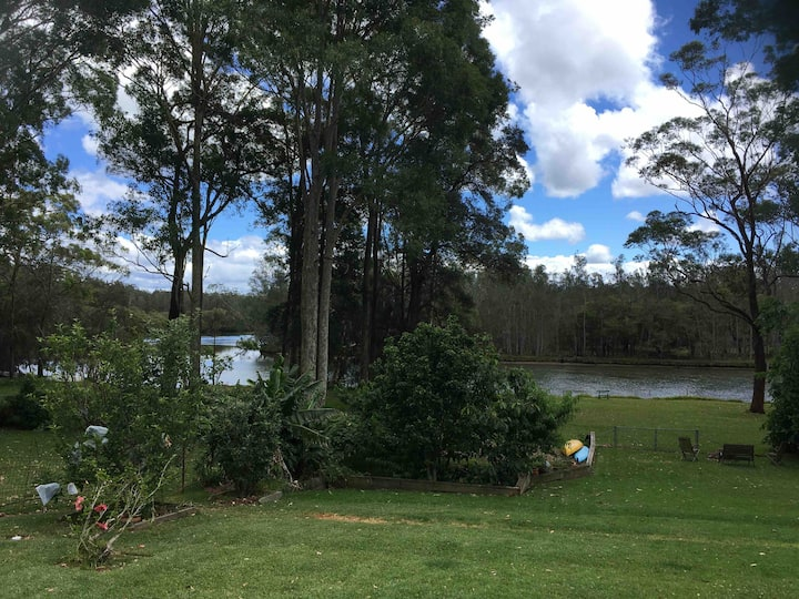 Studio by the river in Jervis Bay