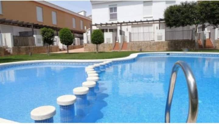 Adosado con Piscina. Attached with pool, Alcosebre