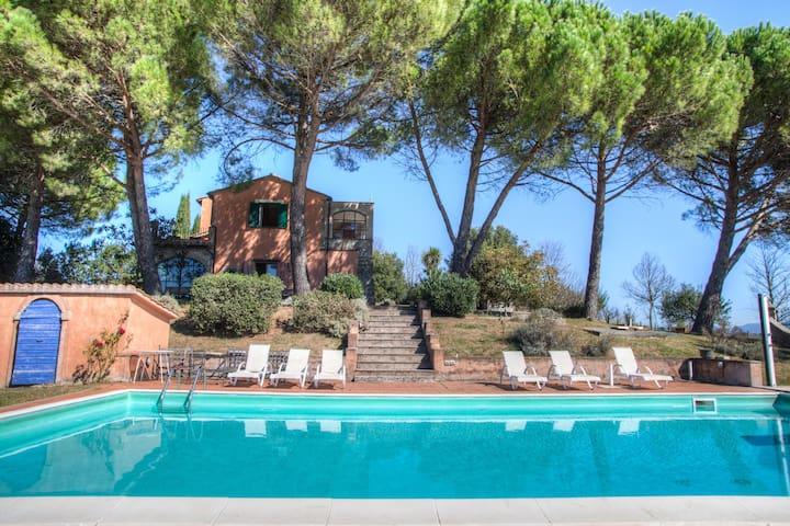 Villa Amelia Umbria con depandance e piscina - Amelia - Casa de camp