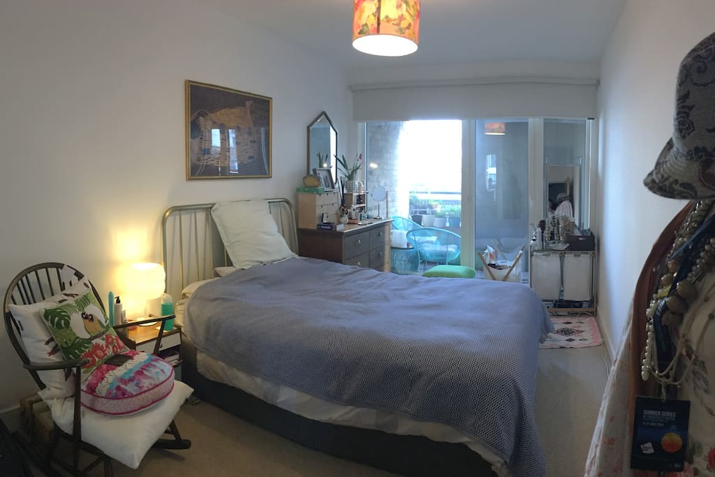 Master Bedroom with direct access to balcony