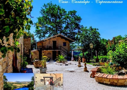 Casa-Cantalupo/ Haus Fienile - Cupramontana
