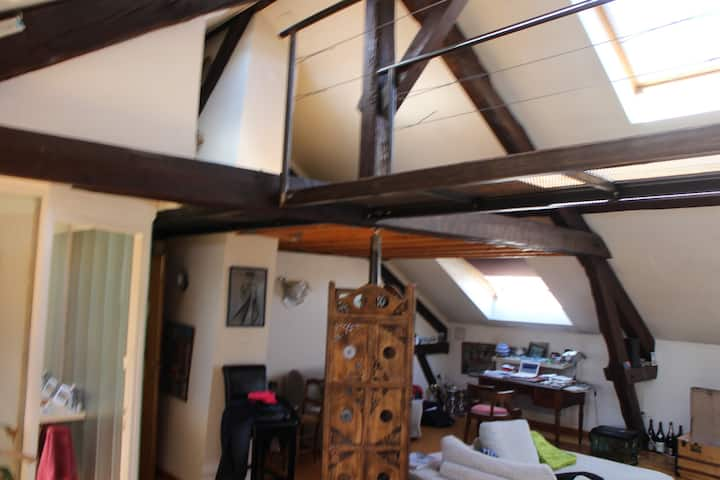 loft 70 m2 refait a neuf récemment(août2020)