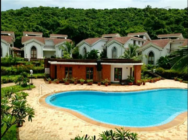 A Luxury Stay in Arpora-Baga