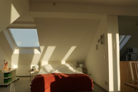 Very bright and cosy appartment in the attic...... - ミュンスター - アパート