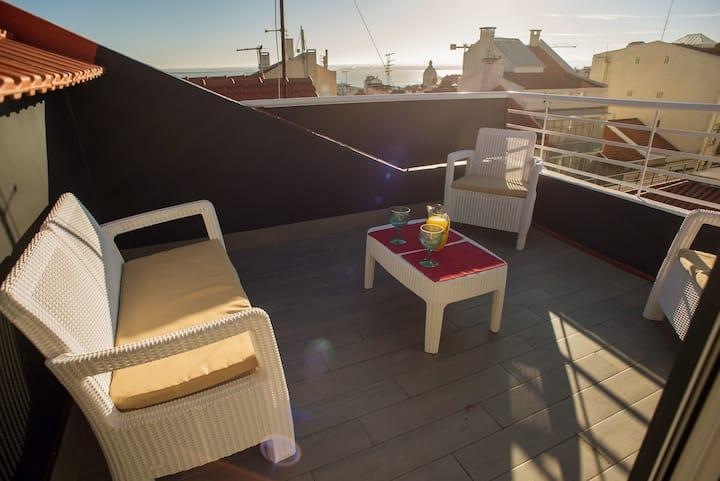Rooftop Terrace-Sao Gens Apartments 61579/AL