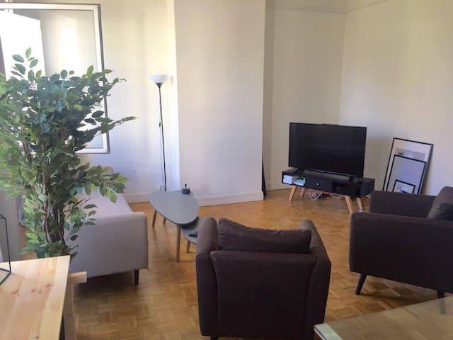 Appartement spacieux et fonctionnel - Nantes - Leilighet