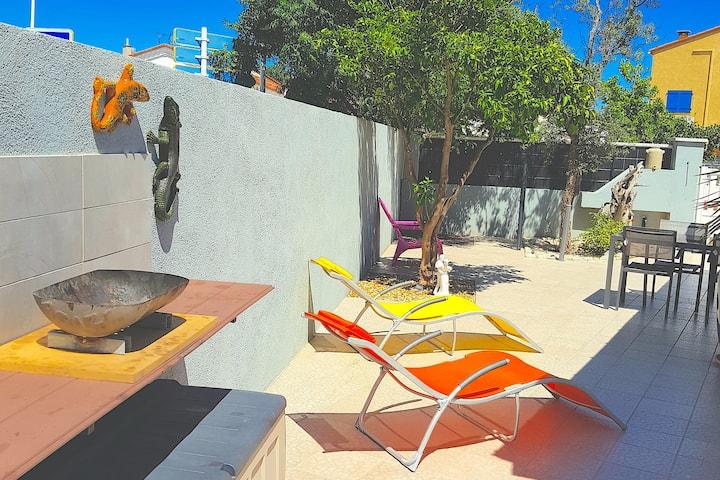 Studio tout confort en plein cœur de Canet plage !