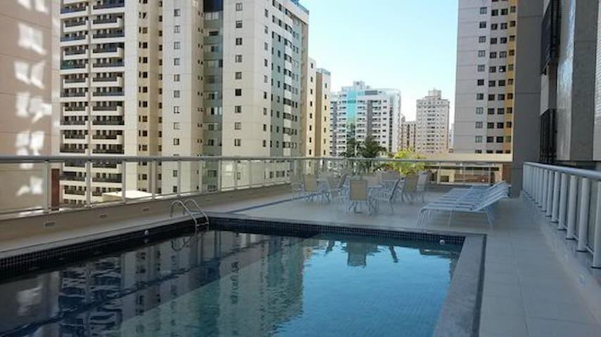Flat no Hotel Smart 4 Águas Claras - Brasília