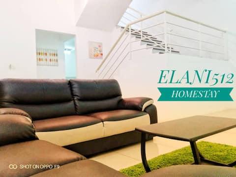 Elani512 Homestay, spacious and comfortable
