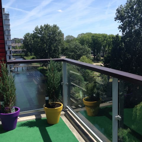 Amazing  Apartment ( 88m2) with Lovely Terrace! - Amsterdam - Wohnung