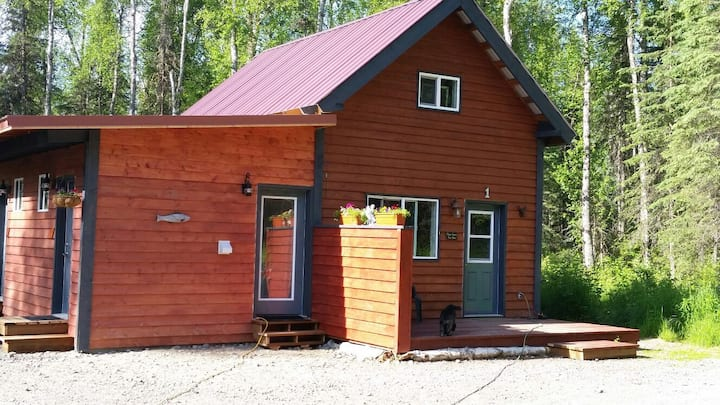 Chinook Cabin- Full kitchen & Bath