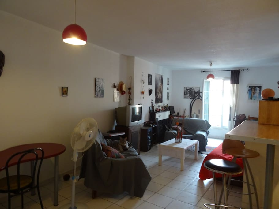 Appartement T2 centre ville Sète