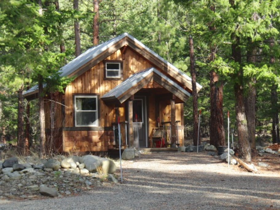 mazama trails guest cabin cabins for rent in winthrop ForWinthrop Cabin Rentals