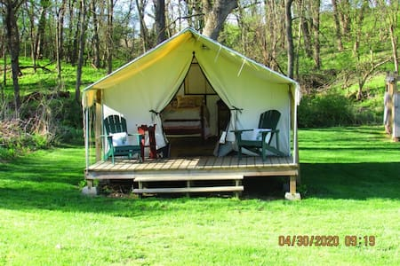 Cozy Oaks Glamping Tent for 2