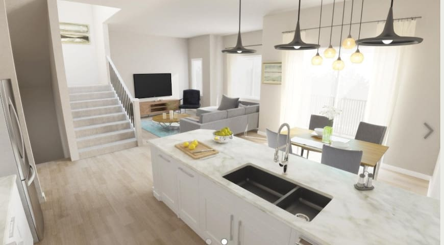 Spacious brand new Luxurious 2 bedroom townhouse - Cochrane - Townhouse