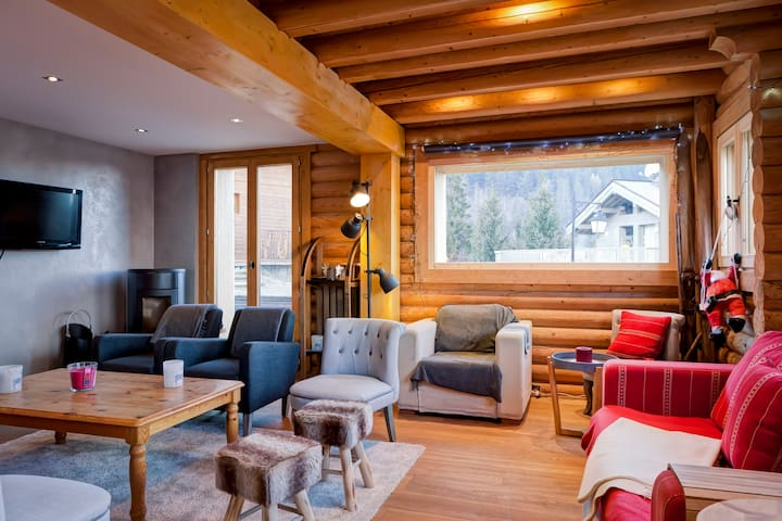 ORCHIS - 7 bedrooms, 14 persons, this cosy chalet will welcome all your family! - LA TANIA - Alpehytte