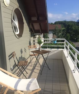 Spacieux et calme T2 avec terrasse - Apartamento
