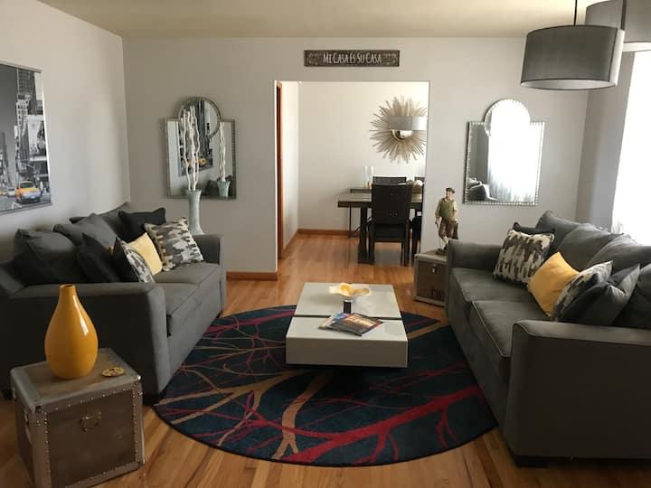 """The Fairway Home"" in desirable Washington Rd area"