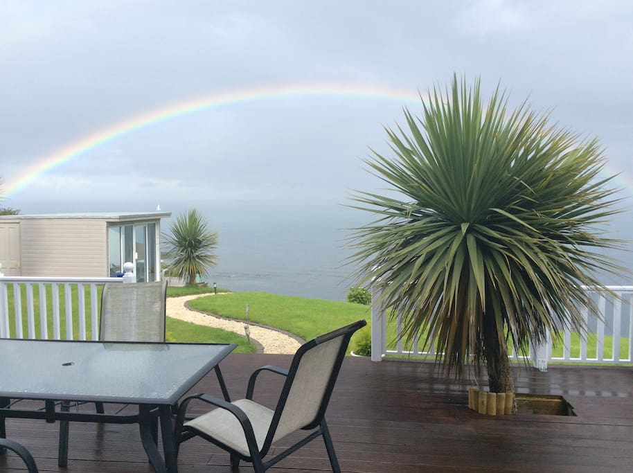 View from back of house overlooking Belfast Lough