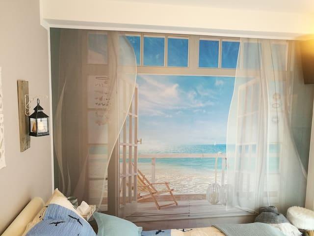 neue  Ferienwohnung Südterrasse mit Kamin Bj 2018